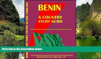 Big Deals  Benin Country Study Guide (World Country Study Guide  Best Seller Books Most Wanted