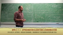 [2016 MPRI 2.11.1] 3. Mathematical Programming 2: Semi-Definite / Vector programming (28/9/2016)