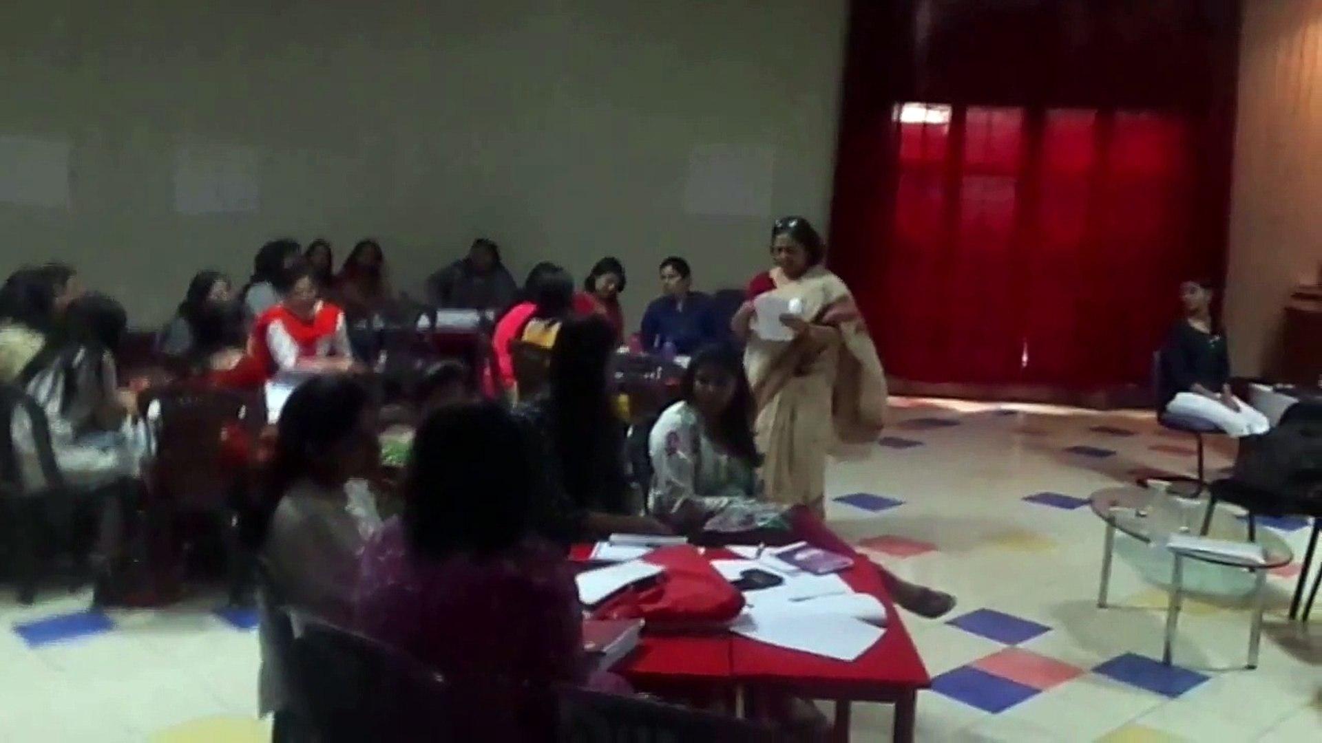 TEACHERS TRAINING WORKSHOP (LIFE SKILLS) NEERA MATHUR