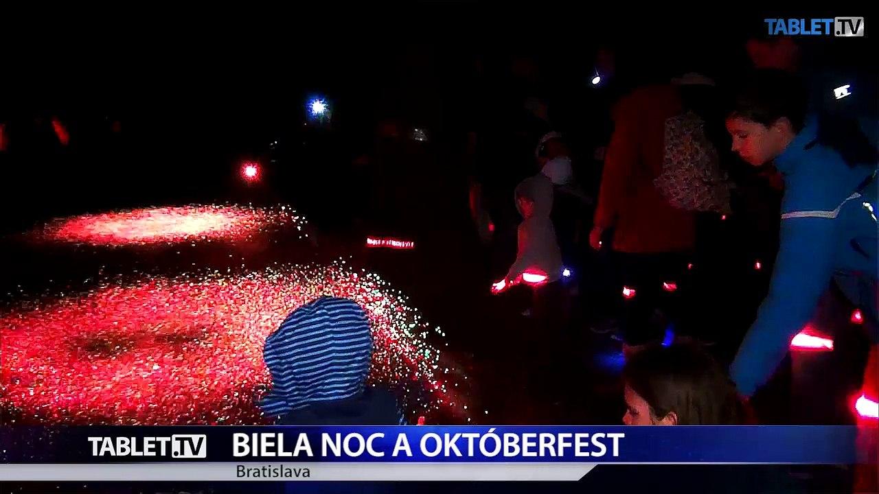 BRATISLAVA: Obyvatelia a návštevníci si užili Bielu noc aj Októberfest