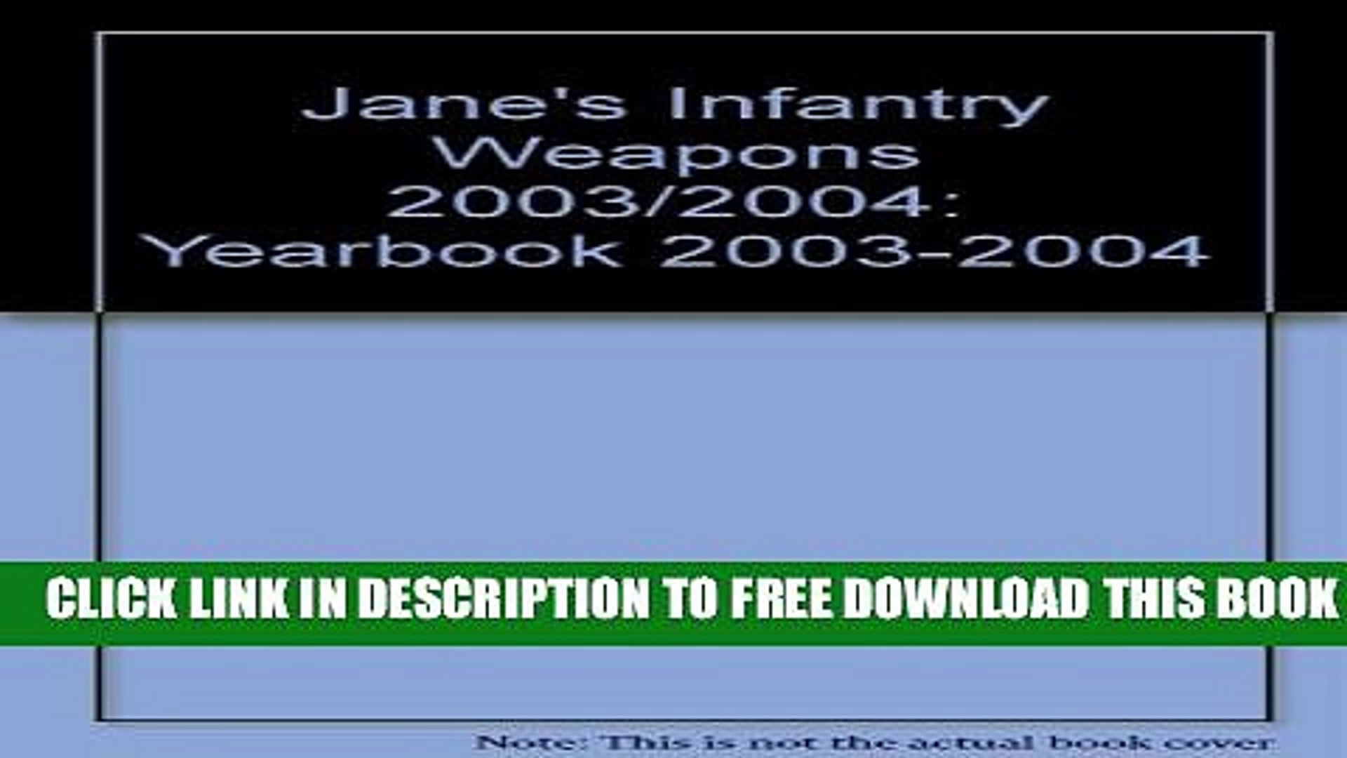 [PDF] Jane s Infantry Weapons, 2003-2004 (Jane s Infantry Weapons (Print Version), 2003 2004)