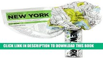 New Book Crumpled City Map-New York