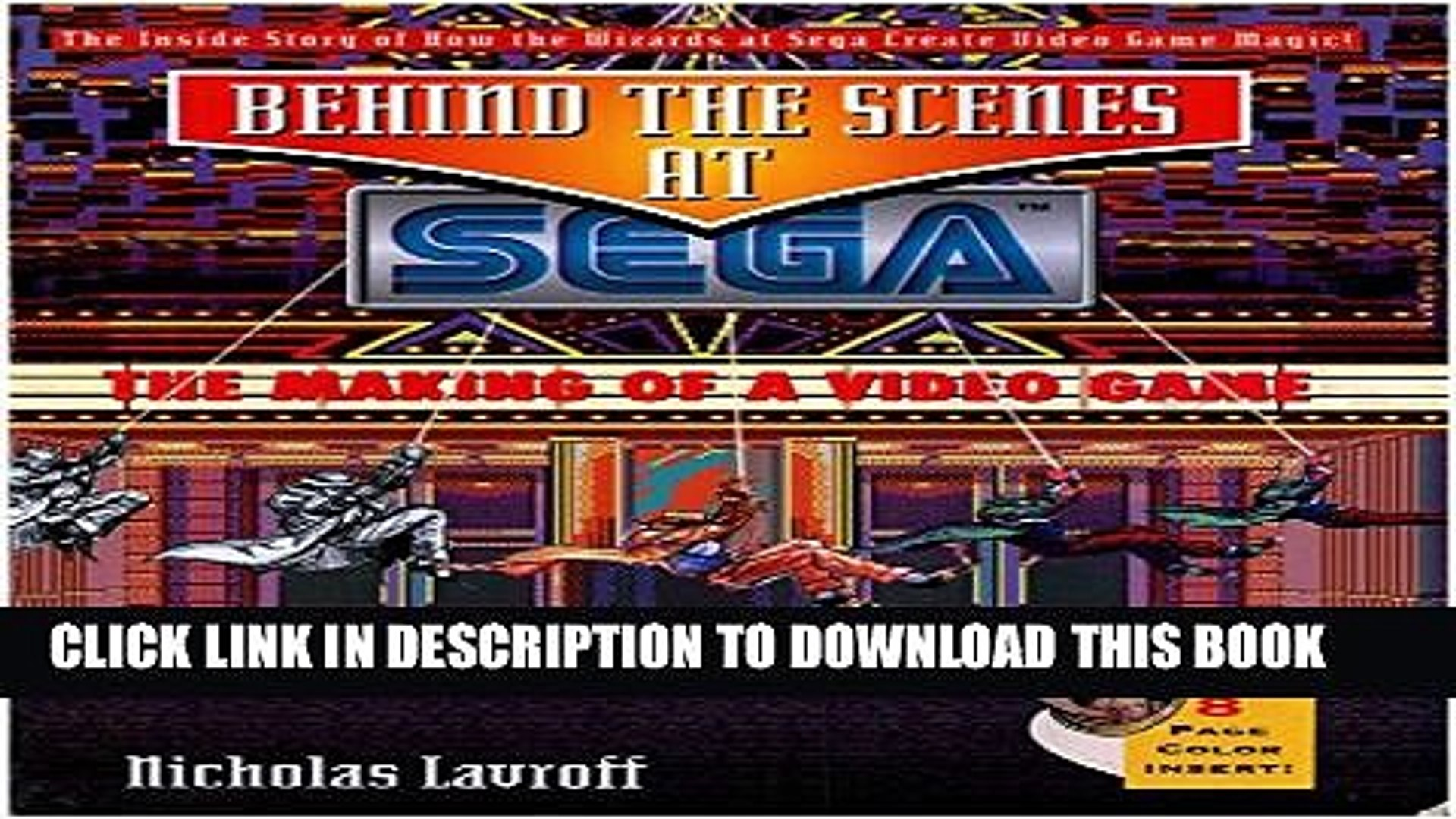 [PDF] Behind the Scenes at Sega: The Making of a Video Game Popular Colection