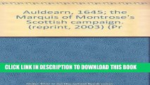 [PDF] Auldearn, 1645; the Marquis of Montrose s Scottish campaign. (reprint, 2003) (Pr Full