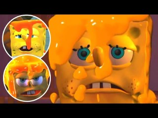 SpongeBob SquarePants & Nicktoons: Globs of Doom  FULL MOVIE All Cutscenes