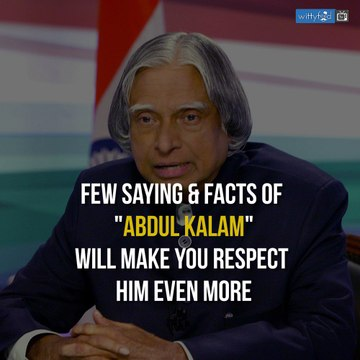 Adbul Kalam Sayings & Facts || WittyFeed