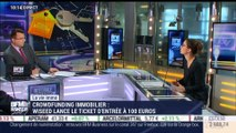 Marie Coeurderoy: Crowdfunding immobilier: Wiseed propose un ticket d'entrée à 100 euros - 10/10