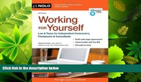read here  Working for Yourself: Law   Taxes for Independent Contractors, Freelancers   Consultants