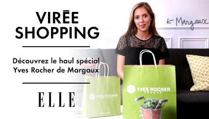 Virée shopping chez Yves Rocher : découvrez le « haul » de Margaux !