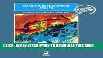 [PDF] Marine Biogeochemical Cycles, Second Edition Popular Colection