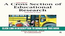 [PDF] A Cross Section of Educational Research: Journal Articles for Discussion and Evaluation Full