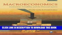 [PDF] Macroeconomics: Institutions, Instability, and the Financial System [Online Books]