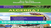 [PDF] PRENTICE HALL MATH ALGEBRA 1 STUDENT WORKBOOK 2007 (Prentice Hall Mathematics) Popular