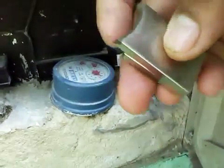 Como Parar Un Contador De Agua Con Iman Vídeo Dailymotion