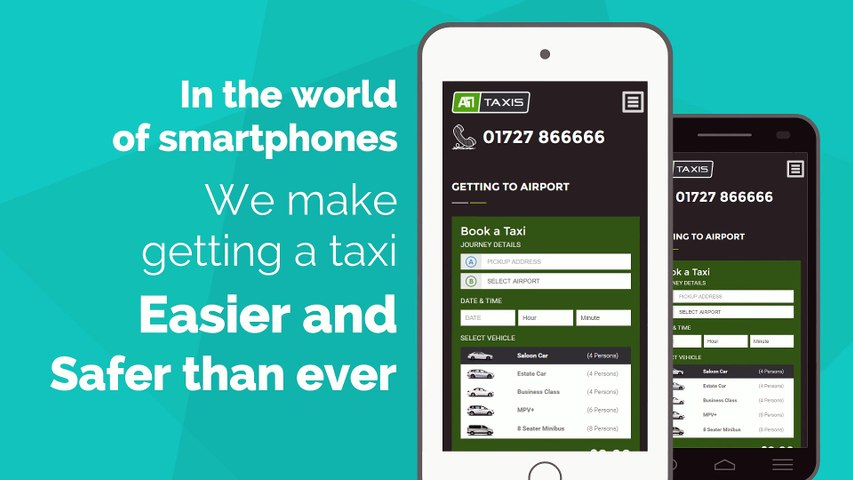 A1 Taxis Mobile Booking Promo