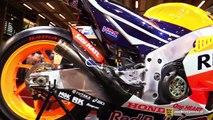 2015 Honda RCV213V Moto GP Dani Pedrosa #26 Racing Bike - Walkaround - 2015 Salon Moto Paris