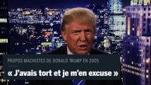 Trump s'excuse après la révélation de ses propos machistes de 2005