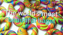 """How """"Rainbow Bagels"""" are made"""