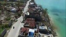 Haïti après Matthew : les villes dévastées de Port-Salut et Jérémie vues du ciel