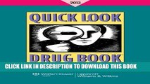 [PDF] Quick Look Drug Book 2013 Popular Collection