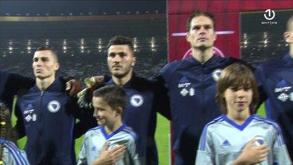 Himna BiH na utakmici protiv Kipra