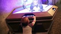 Fun at Star Wars Launch Bay | Action Movie Kid | Star Wars | Walt Disney World
