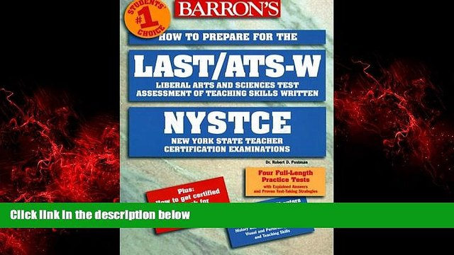READ book  Last/Ats-W: How to Prepare for the Liberal Arts and Sciences Test Assessment of