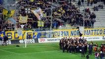 """""""Va' Pensiero"""" Auguri a Verdi dal Parma Calcio in Curva Nord 10 Ottobre 2016"""