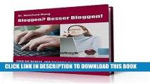 [PDF] Besser bloggen!: Sind Sie bereit, Ihren eigenen Blog zu starten und damit Geld zu verdienen?