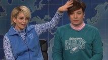 Tina Fey mocks Jimmy Fallon for 'softball' interview with Donald Trump