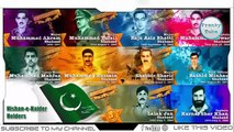 Top 10 Nishan e Haider Holders Names and Pictures | Information About Pakistan | New Video Pak Army