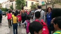 Grèce : l'école après l'exode pour de jeunes réfugiés