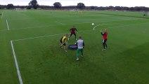 L'incroyable entraînement des gardiens de Norwich City !