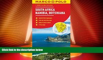 Big Deals  South Africa, Namibia, Botswana Marco Polo Map (Marco Polo Maps)  Full Read Most Wanted