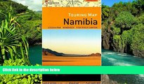Big Deals  Namibia Touring Map  Best Seller Books Most Wanted