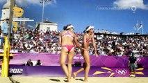 Darum geht's beim Sport - Beachvolleyball