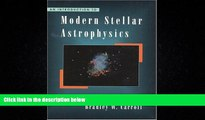 Enjoyed Read An Introduction to Modern Stellar Astrophysics
