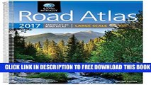 New Book Rand McNally 2017 Large Scale Road Atlas (Rand Mcnally Large Scale Road Atlas USA)