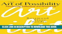 New Book The Art of Possibility: Transforming Professional and Personal Life