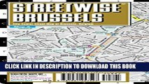 Collection Book Streetwise Brussels Map - Laminated City Center Street Map of Brussels, Belgium