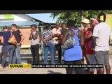 Reportage de ma nièce Alice pour Midi 1ère Guyane - St Laurent, les ras-le-bol des parents du collège A. Bouyer d'Angoma