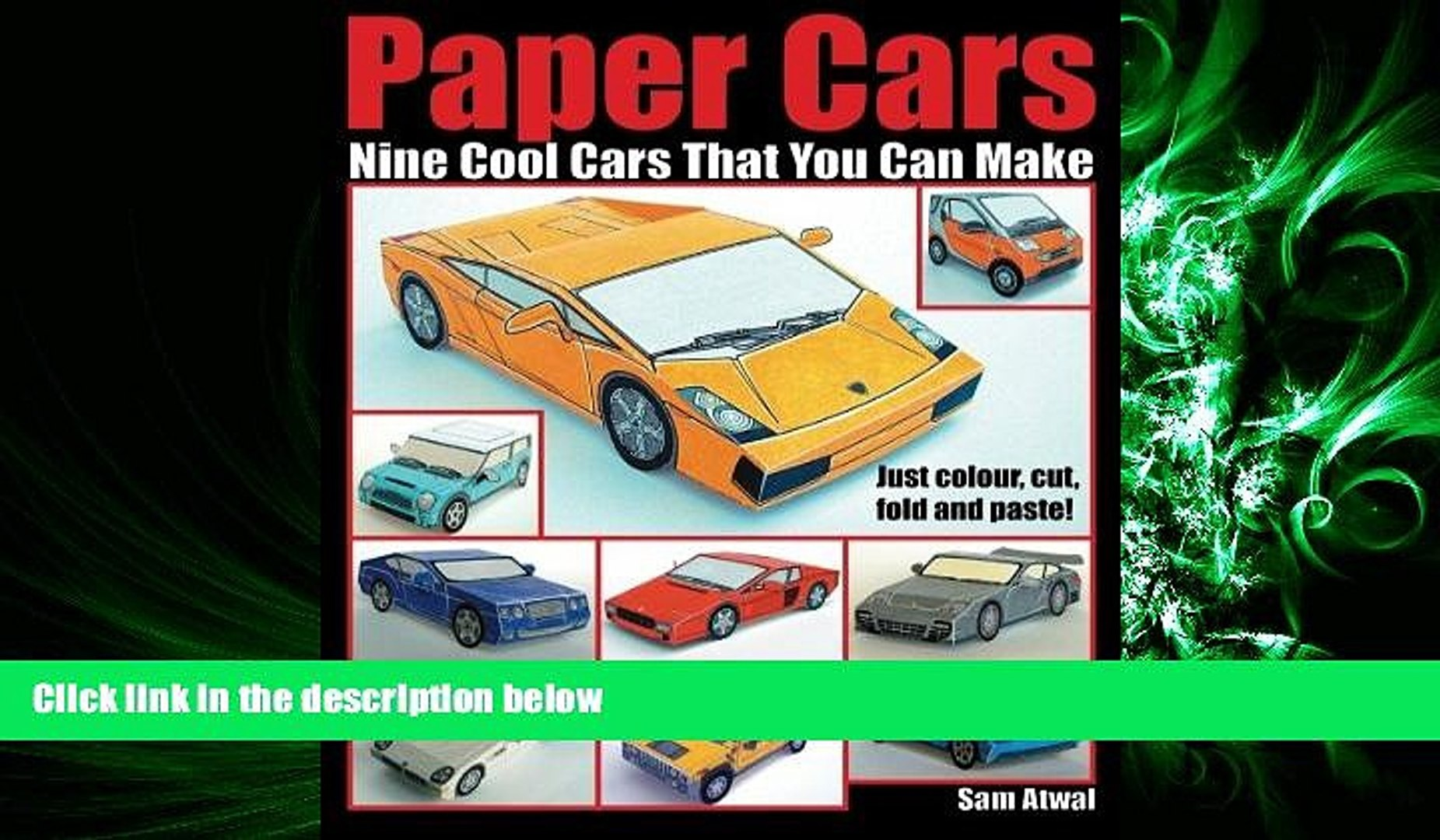 book online Paper Cars