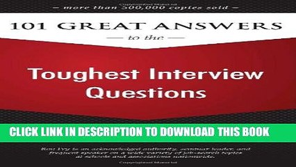 Collection Book 101 Great Answers to the Toughest Interview Questions