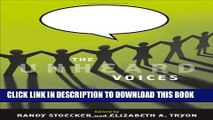 Collection Book The Unheard Voices: Community Organizations and Service Learning