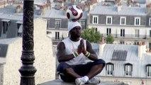 Iya Traoré -  Footballer Freestyle & Acrobate à Montmartre - Clip HD