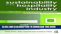 PDF] Sustainability in the Hospitality Industry: Principles