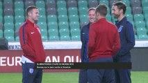 Foot - CM 2018 (Q) - ANG : Rooney sur le banc contre la Slovénie