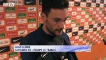 Bleus - Hugo Lloris et Kevin Gameiro réagissent à la victoire contre les Pays-Bas