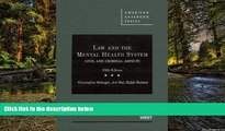 Full [PDF]  Law and the Mental Health System: Civil and Criminal Aspects (American Casebook)