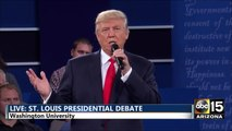 Presidential Debate: DT: Lincoln never lied unlike Clinton. Wikileaks - Hillary Clinton Donald Trump